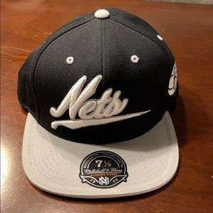Brooklyn Nets Mitchell & Ness Fitted 7 1/2